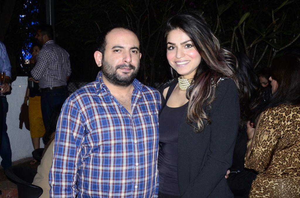 Avadh Mathrani and Sonia Gulati at the afterparty of Grover Zampa Vineyards Inter-Club Golf Championship_