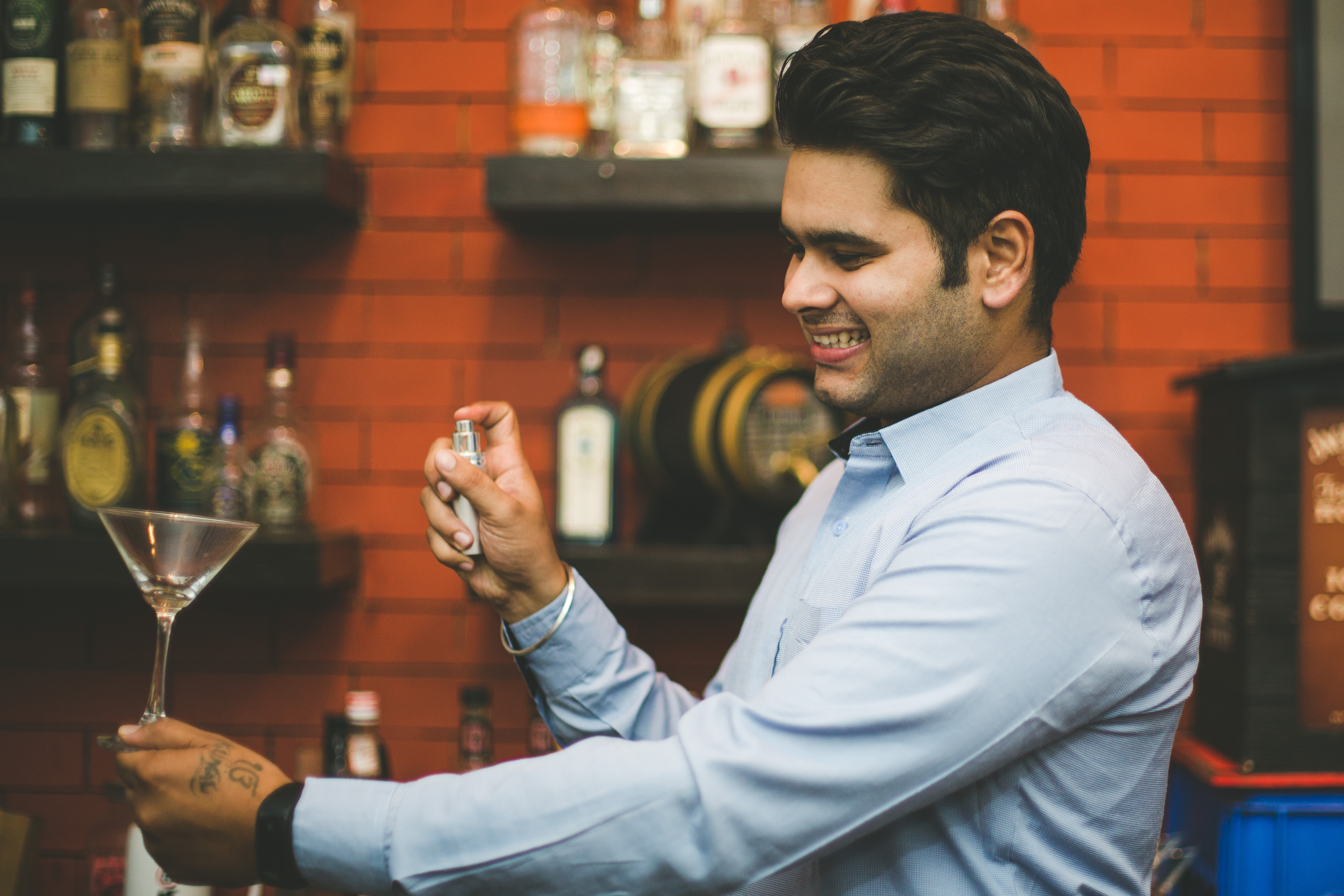 Faculty Kunal Bedi of Cocktails and Dream School of Bartending